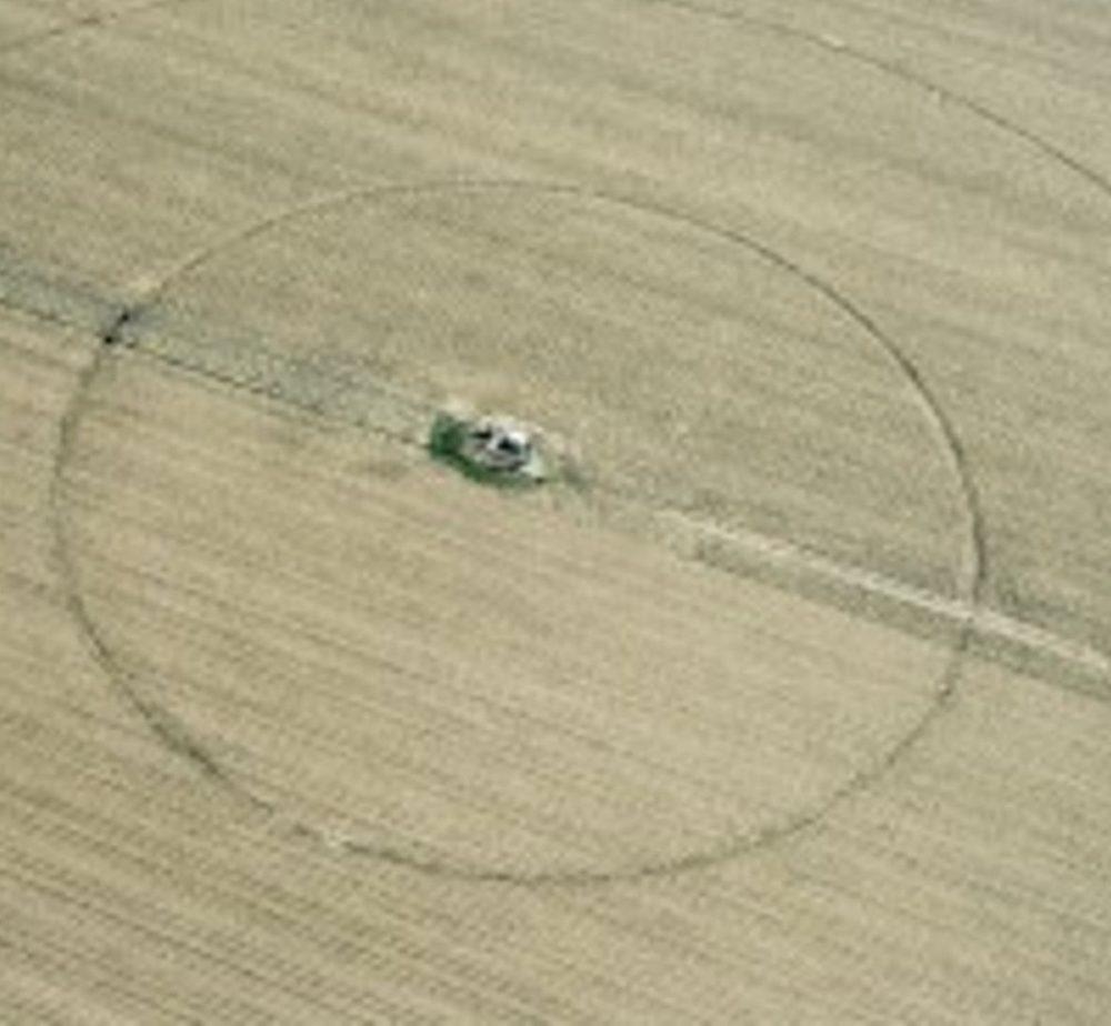 antico cerchio nel grano