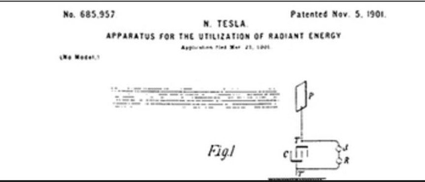 brevetto piastre di Tesla