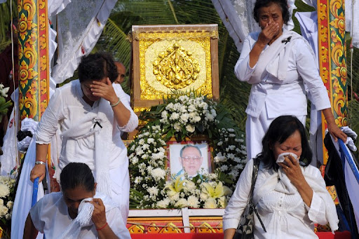 funerale in cina
