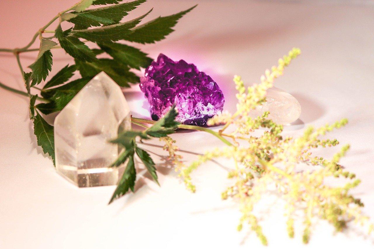 cristalli e piante